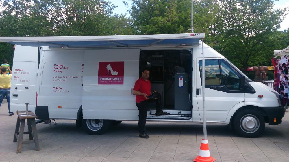 Mobile Werkstatt - Ronny Wolf Schuh- und Schlüsseldienst